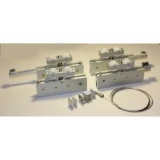 Механизмы для раздвижных дверей - комплект телескопик set 1 full