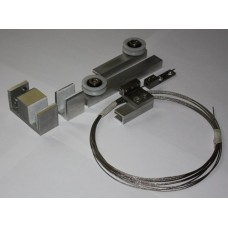 Механизмы для раздвижных дверей - комплект телескопик set 1