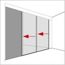 Механизмы для раздвижных дверей - телескопик